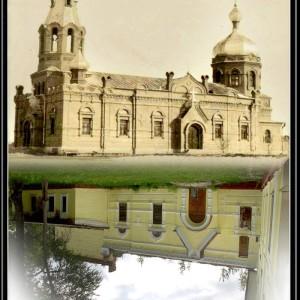 отражение храм доса
